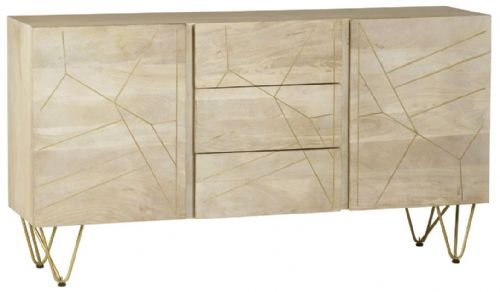Brecon Light Centre Drawer Sideboard